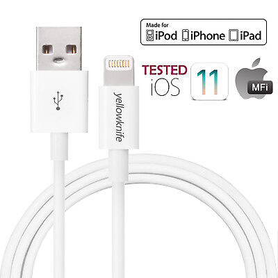 HQ Apple Lightning Data Cable Charger for iPhone XR XS Max X 8 8 Plus 7 6 5 iPad