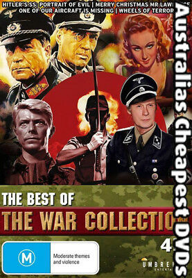 The Best Of The War Collection DVD NEW, FREE POSTAGE WITHIN AUSTRALIA REGION 4