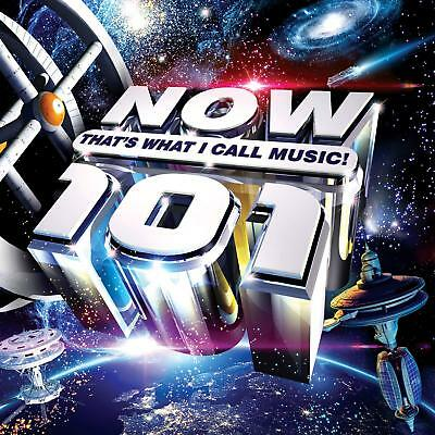 NOW THATS WHAT I CALL MUSIC 101 (Various Artists) 2 CD SET (2018)