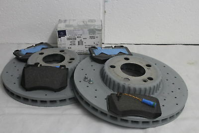 Genuine Mercedes-Benz W213 E-Class Saloon/Est AMG Front Discs & Pads Kit NEW!