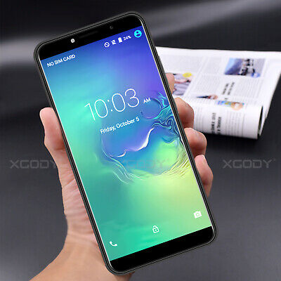 "XGODY Cheap Unlocked Dual SIM Android 7.0 Mobile Phone 3G 8GB 5.5"" Smartphone"