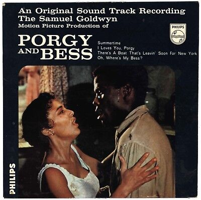 "PORGY AND BESS ""Summertime.. u.a."" EP 1959 OST Philips 429 642 BE"