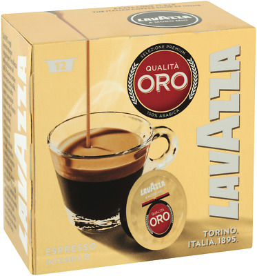 NEW Lavazza 88867 ORO Espresso Coffee Capsules 12 PK