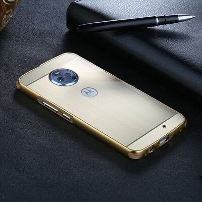 Shockproof Hybrid Brushed Armor Slim Case Cover Tempered Glass Screen Protector