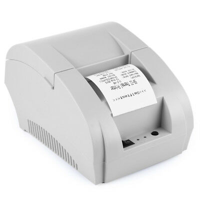 Portable Mini 58mm POS Receipt ZJ-5890K Thermal Printer with USB Port Hot