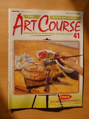 DeAGOSTINI ART COURSE MAGAZINE #41 DRAWING & PAINTING MADE EASY STEP BY STEP