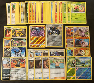 100 Pokemon Cards Bulk GENUINE + 9 Energy Cards - BUY 4 GET 40 Extra Cards FREE