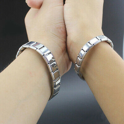 New Pure Titanium Magnetic Bracelet Arthritis Therapy Energy MEN WOMEN CUFF POUC