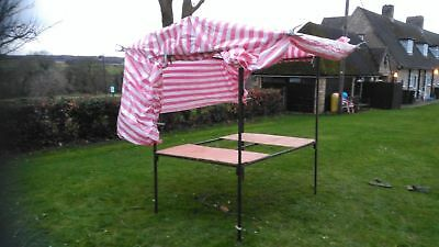 6ft x 4ft Steel Market/Car-boot stall with cover