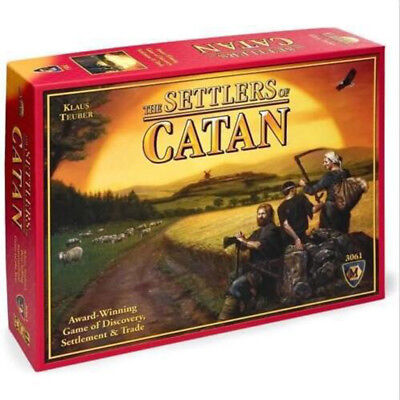 The Settlers of Catan Base Edition Board Game