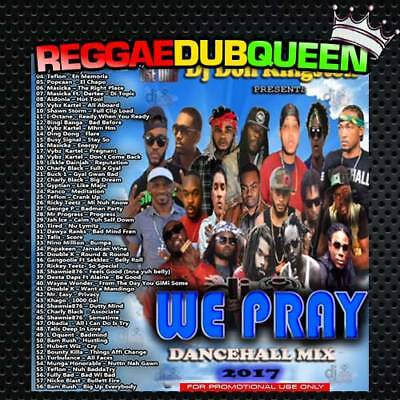 DJ DON KINGSTON - We Pray Dancehall Mixtape  Reggae Mix CD