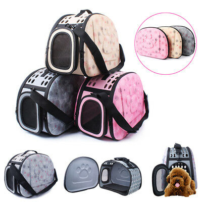 Pet Dog Puppy Cat Carrier Basket Bag Cage Waterproof Transport Kennel Box Vet