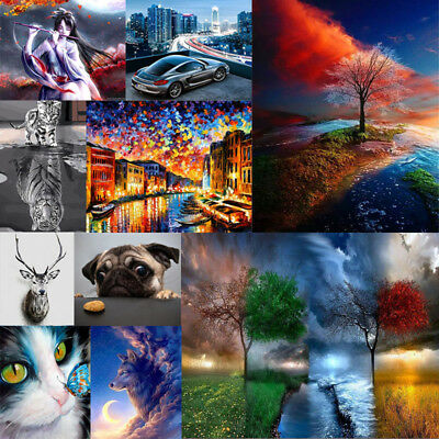 40*50cm DIY Paint By Number Kit Digital Acrylic Oil Painting Artwork Wall Decor