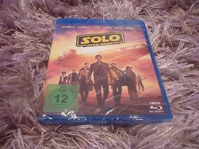 Solo - a Star Wars Story Blu Ray