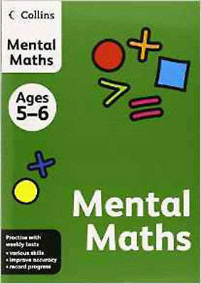 Collins Mental Maths: Ages 5-6 (Collins Practice), New, HarperCollins UK Book