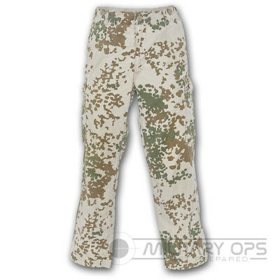 Genuine German Army Tropentarn Trousers Combat Sand Desert Used Grade 1