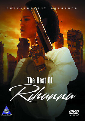 Rihanna The Best Of Videos Pop R&b Dvd Work Drake Anti Needed Me Kiss It Better