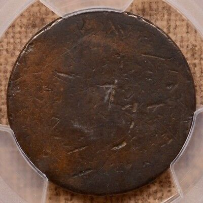 1793 Chain America cent, PCGS P/FR detail, links are clear   DavidKahnRareCoins