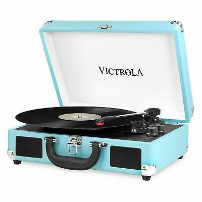 Victrola Portable Suitcase Record Player Turntable With Bluetooth VSC-550BT TQ