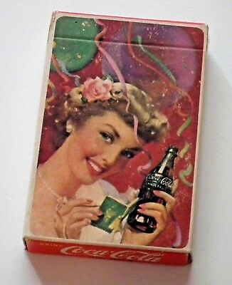 Sealed deck of 1951 Coca-Cola playing cards