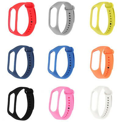 Replacement for Band M2 M3 Adjustable Bangle Silicone Strap Wristband Bracelet