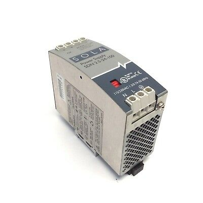 Sola SDN 2.5-24-100 24VDC/2.5A Limited Power Source Class 2 Power Supply