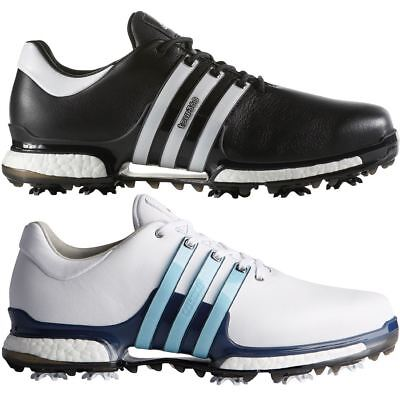 *53% OFF* adidas Tour 360 Boost 2.0 Leather Waterproof Golf Shoes - Wide Fitting