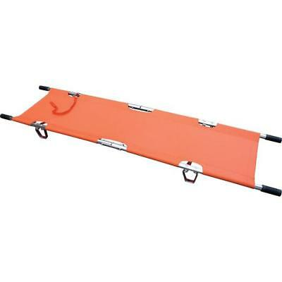Click Medical Two Fold Stretcher Lightweight with Carrying Bag Orange Ref CM1124