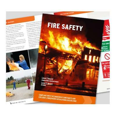 Click Medical Fire Safety Book Comprehensive Manual Fully Illustrated Ref CM1320