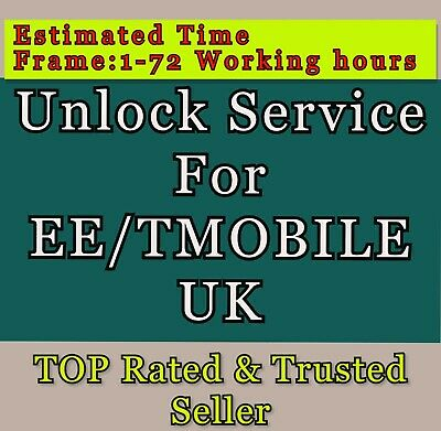 UNLOCK CODE SERVICE FOR iPhone 8 7 6s 6+ 5 5S 5C SE 4S FOR EE ORANGE T MOBILE UK