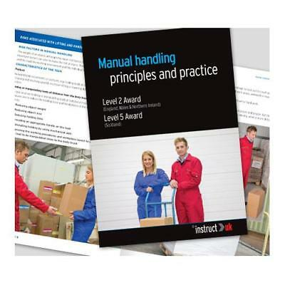 Click Medical Manual Handling Book Fully Illustrated Ref CM1319