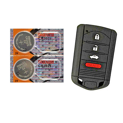 Acura Keyfob Replacement Battery Maxell CR2025 Lithium (2 Pack) + Tracking