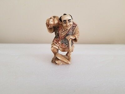 Vintage Japan Composite Figurine 3.25'' Tall FREE SHIPPING!