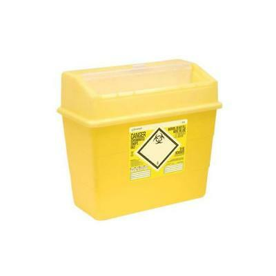 Click Medical Sharps Bin Temporary & Final Closure Feature 30L Yellow Ref CM0649