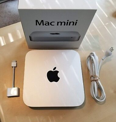 Mac Mini Late 2012 i5 Upgraded 16GB RAM 480GB SSD Intel HD 4000 Graphics READ