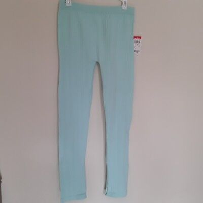 Girls leggings brand Basic Editions new with tags. Color mint