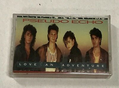 Vintage Pseudo Echo - Love An Adventure - Cassette Tape