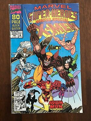 Marvel Super Heroes Vol 2 #8 (1991)~ Winter Special ~1st Squirrel Girl ~ FN/VF