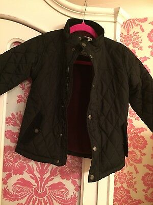 Boys Quilted Coat 4/5