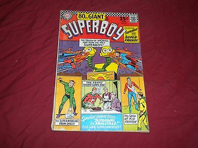 Superboy #129 (May 1966, DC) silver age 5.0/vg/fn 80 page giant comic!!!!