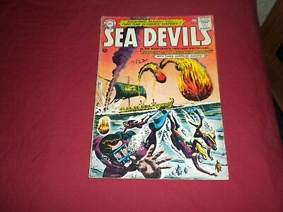 Sea Devils #13 dc 1963 silver age 4.0/vg comic! Lots of Sea Devils listed! WOW!!