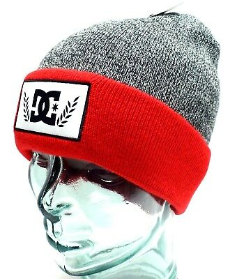 ced4785a07c DC SHOES Men s Cuffed Beanie  Skater Cap w  DC Logo Patch Various Colors