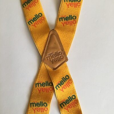 Mello Yello Soda Suspenders Vintage