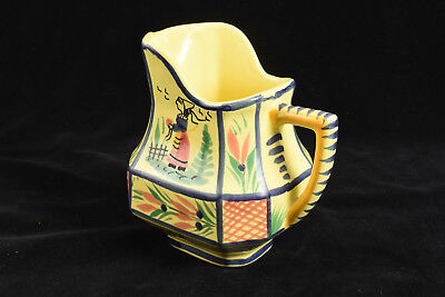 Vintage Henriot Quimper France French Breton Woman Creamer V52