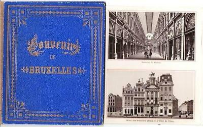 Brussels Belgium / SOUVENIR OF BRUXELLES / First Edition 1880 Travel
