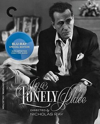 New Blu Ray - In A Lonely Place - Criterion - Humprey Bogart , Gloria Grahame