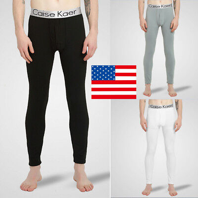 USA STOCK New Adult Men's Wool Blend Pants Thermal Long Johns Winter Underwear