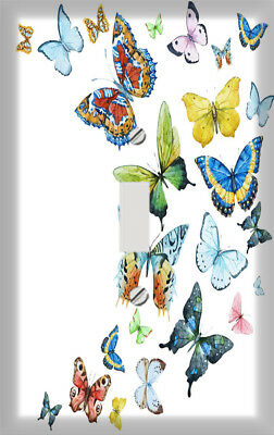 Butterfly Fancy Dance Decorative Switchplate / Switch Plate