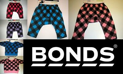 Bonds Roomies Boy Girl  Pants Relaxed Tops Cotton Assorted Colours 000 00 0 1 2
