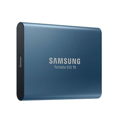 Samsung Portable SSD T5 500GB External Storage 540MB/s Speed Fast Light Compact